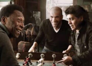 Louis Vuitton Soccer Ad