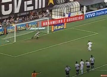 Neymar Paradinha Penalty Kick