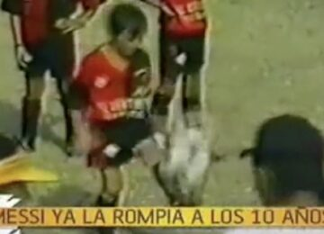 Young Messi Juggling