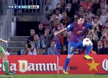 Messi's God Touch