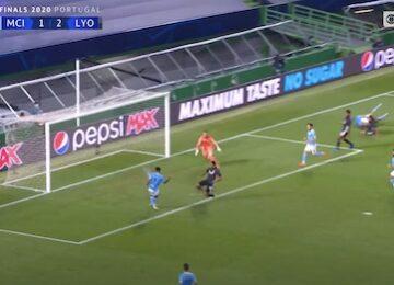 Sterling Misses Open Goal