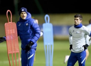 Pulisic Wearing a Snood