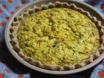Asparagus and Feta Quiche