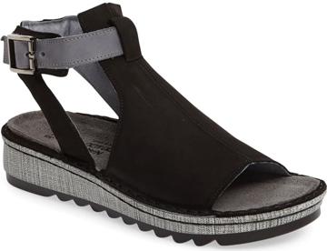 comfortable sandals if you have plantar fasciitis - Naot 'Verbena' sandal | 40plusstyle.com
