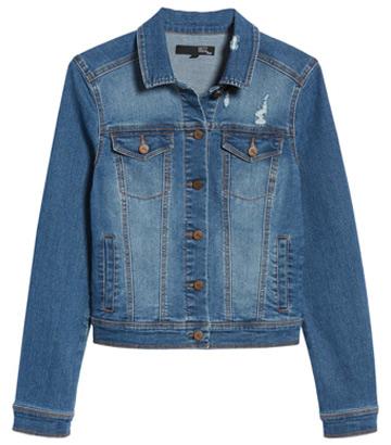 ripped denim jacket   40plusstyle.com