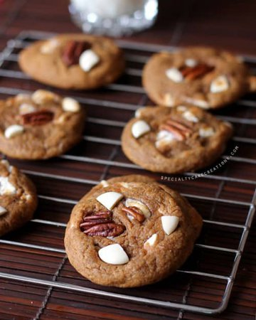 Deluxe Pumpkin Cookies