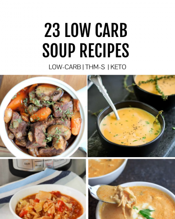 low carb soups featured image