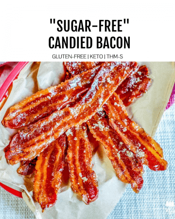 sugar free candied bacon featured image
