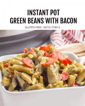 instant pot green beans featured image