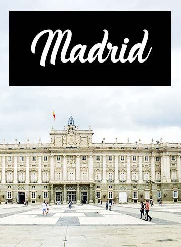 7 Days in Madrid Itinerary