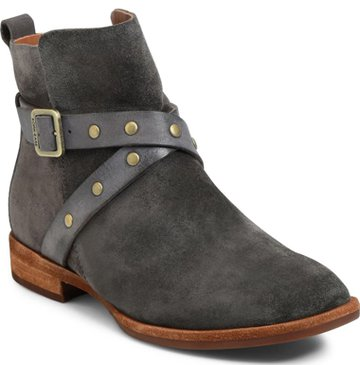 Shoes with arch support - Kork-Ease gray boot | 40plusstyle.com