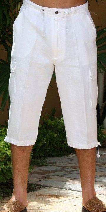 Шорты бермуды - оптимальное решение для пляжного гардероба