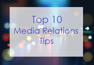 Top 10 Media Relations Tips from Los Angeles Media Trainer Lisa Elia, of Expert Media Training™ in Los Angeles and worldwide