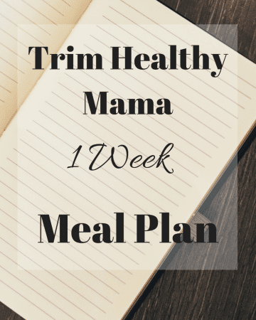 Are you following the Trim Healthy Mama plan, but feel overwhelmed with what to eat? Let me do the work for you, and make your life just a little bit easier with a 1 week Trim Healthy Mama Menu Plan! #trimhealthymama #thm #mealplan #menuplan #mymontanakitchen