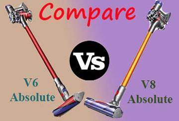 Dyson V6 vs V8