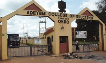 Adeyemi College of Education Ondo Academic Calendar