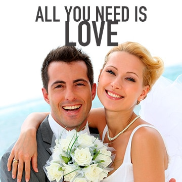 Temptation Cancun Resort | All You Need Is Love Wedding Package