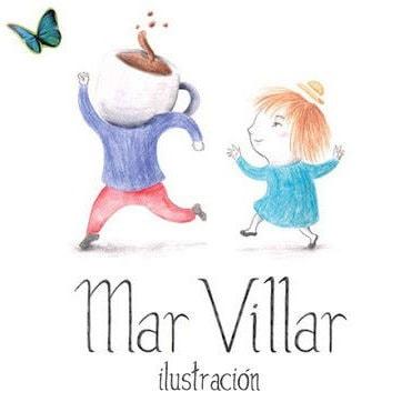 Mar Villar Ilustración Logo