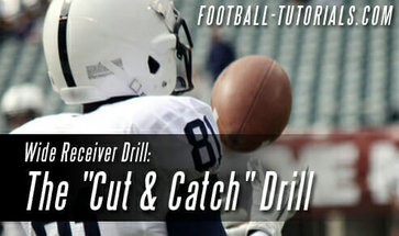 WIDE RECEIVER DRILLS CUT AND CATCH