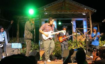 John Mayer at Moonsplash 2011, Dune Preserve Anguilla