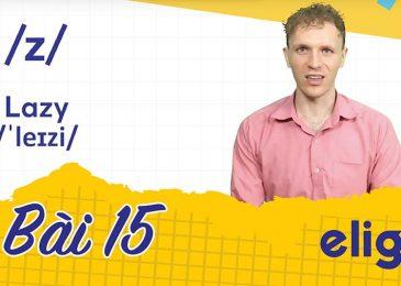 22 ngày học phát âm tiếng Anh cùng Elight – Ngày 15: Phát âm cặp âm /s/ và /z/ chuẩn nhất