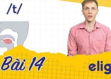22 ngày học phát âm tiếng Anh cùng Elight – Ngày 14: Phát âm cặp âm /t/ và /d/ chuẩn nhất
