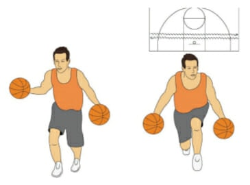 Two Ball Speed Power Basketball Dribbling Drill