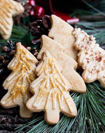 Rustic Caramel Iced Brown Sugar Cookies