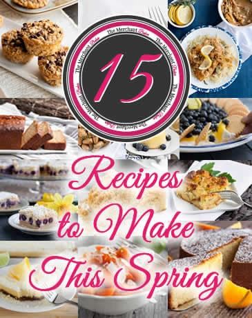 15 Recipes to Make This Spring. There's crumb cakes and pound cakes and biscuits, slab pie, souffles, baked oatmeal and pineapple stuffing. Lots of ideas for recipes from breakfast to dessert!