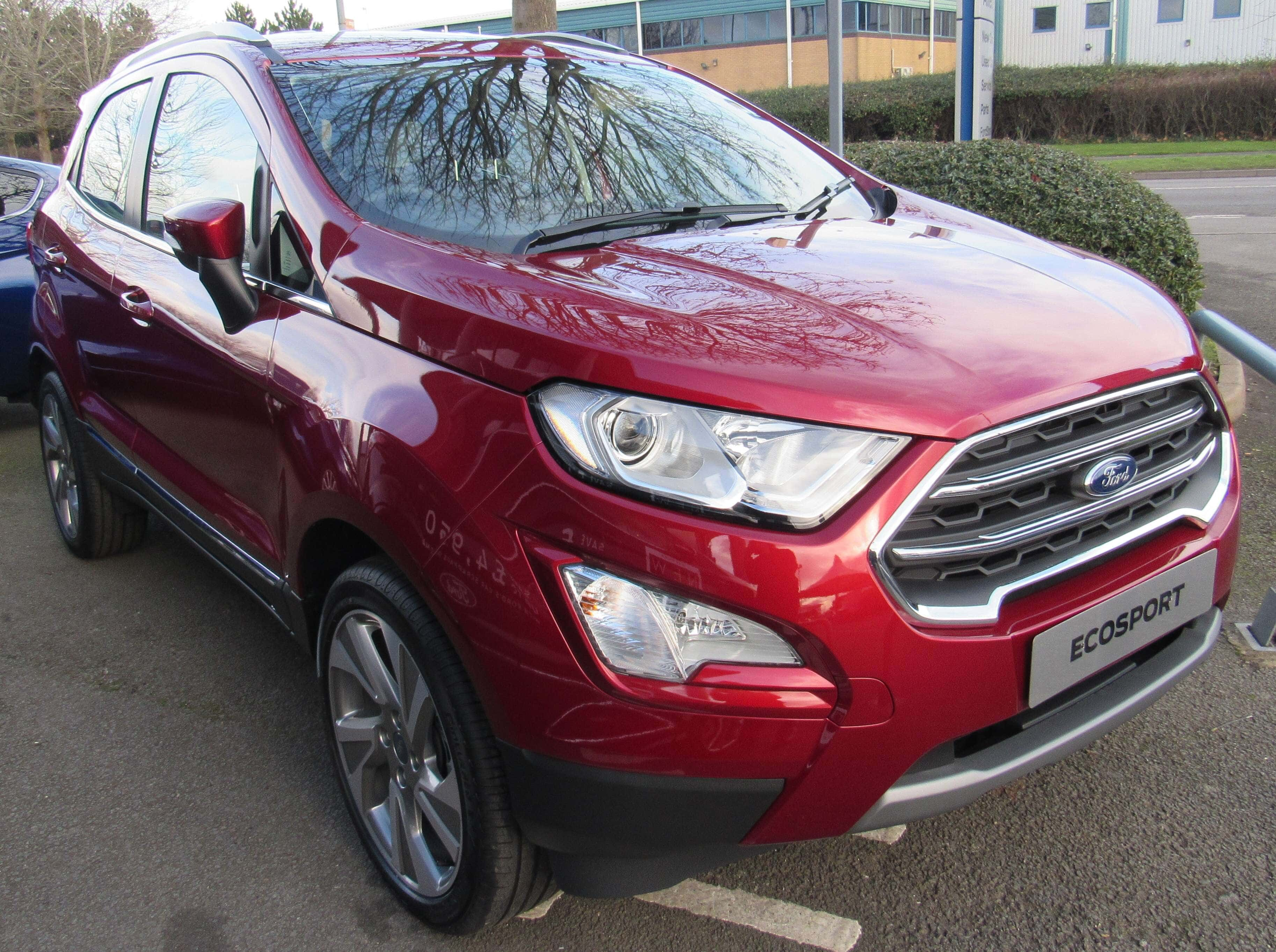 The Ford Ecosport is one of the vehicles manufactured by Ford India Private Limited. (Image Credit: Vauxford/Wikimedia Commons)