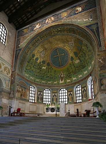 ラヴェンナのサンタポリナーレ・イン・クラッセ聖堂