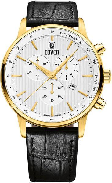 Мужские швейцарские наручные часы Cover Co185.07 с хронографом