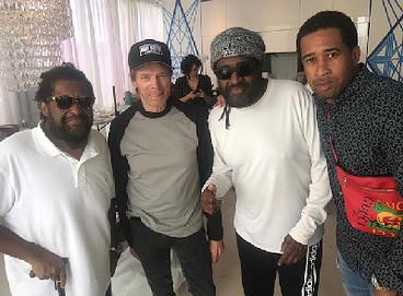 """Bad Boys For Life"" Crew Meet the Bad Boys of Reggae - Roger Lewis, Jerry Bruckheimer, Ian Lewis, Abebe Lewis"