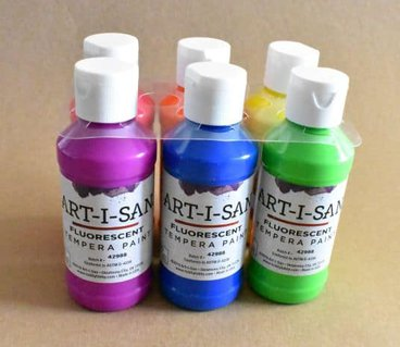 Tempera paint to use for kids paintings