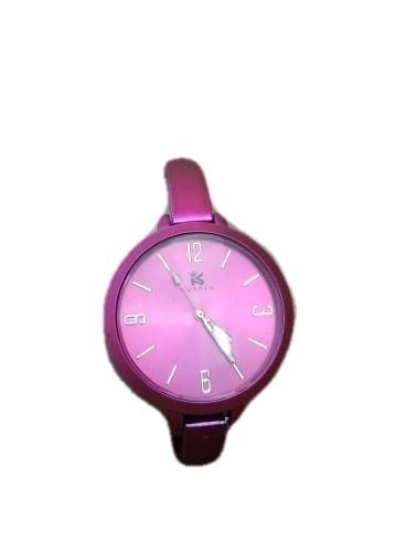 zegarek damski mat różowy