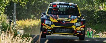 Kevin van Deijne & Hein Verschuuren - Skoda Fabia R5 - Ypres Rally 2019