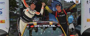 Kevin van Deijne & Hein Verschuuren - Skoda Fabia R5 - Twente Rally 2019