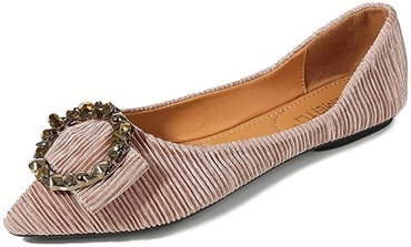 Flat party shoes - Meeshine ballet flat | 40plusstyle.com