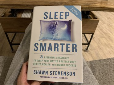 Sleep Smarter Shawn Stevenson Book On Sleeping Tips