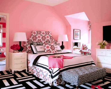 Pink master bedroom romantic headboards