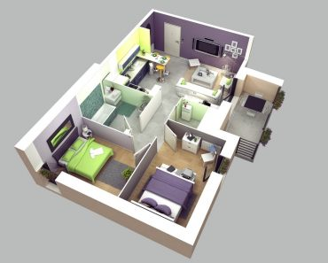 SMALL 2 BEDROOM HOUSE PLANS IDEAS