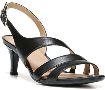 Naturalizer slingback sandal | 40plusstyle.com