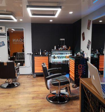освещения Barbershop