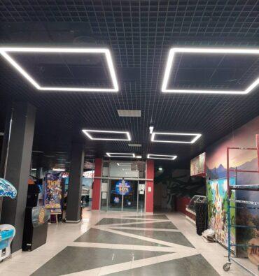освещение для магазина
