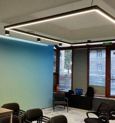 Inled освещение для офиса