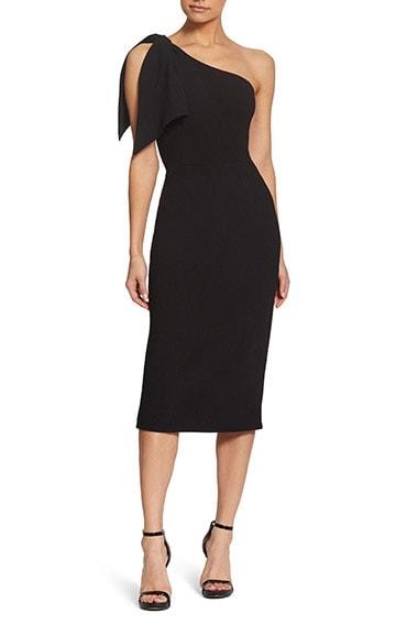 Black cocktail dress | 40plusstyle.com