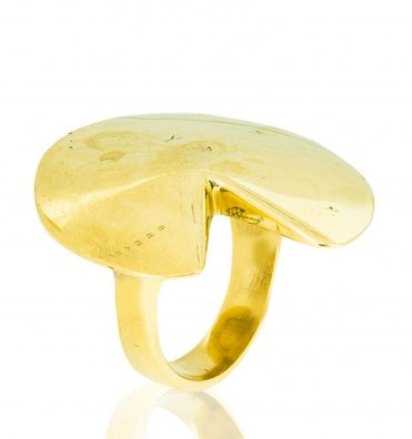 Brass lewa ring