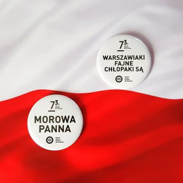 przypinki patriotyczne flaga biało czerwona rocznica powstania warszawskiego
