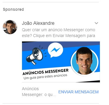 Preview anuncio messenger