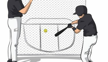 Drop Ball Baseball Hitting Drill